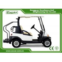 Quality CE Approved Electric Used Golf Carts With Trojan Batteried Curtis Controller for sale