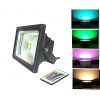 10W waterproof IP65 RGB LED flood light with IR remote control CE ROHS approved