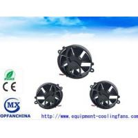 Quality Super Mini Round IP57 DC Axial Fans / Laptop Cooling Fans High Speed Heat Resiatant for sale