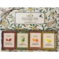 China Fruit skin care Handmade Soap gift set series on sale