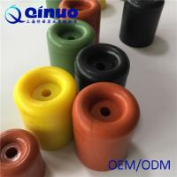 Best Shanghai Qinuo manufacture 30x26mm Silicone Rubber Round Door Bumper wholesale