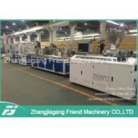 China 37kw Motor Power PVC Ceiling Panel Extrusion Line For Household  0-4m/Min Speed on sale