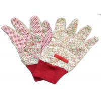 Quality Reusable Industrial Work Gloves , Cotton Knitted Gloves Fabric Cotton Drill for sale