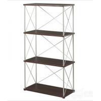 China Portable Four layer Metal Magazine display rack Library Furniture DX-K123 on sale
