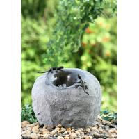 Best Multi Size Cement Water Fountains / Stone Water Fountains For Gardens  wholesale