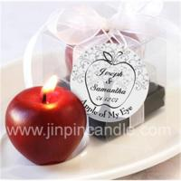 Quality Red apple candle for sale