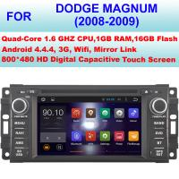 Quality High Digital Audio Dodge Magnum DVD Player Touch Screen Car Radio GPS Navigation 2008 2009 for sale