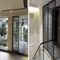 Best building mateiral construction projects decorative laser cut metal panel screen for interior and exterior wholesale
