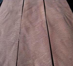 Sliced Natural Sapele Pommele Wood Veneer Sheet