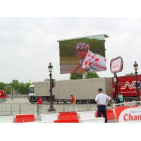 Quality Low power build led Video display RGB Long life span with 256mm X 256mm module for sale