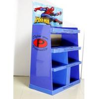 Best Blue Corrugated Cardboard Display Cases For Digital Product Cable Promotion wholesale