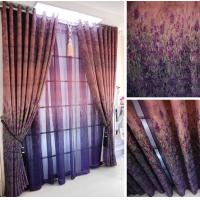 Buy cheap Blackout curtain living room bedroom curtain lavender curtain from wholesalers
