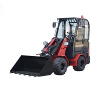 Buy cheap 0.5cbm 1T Compact Articulated Wheel Loader 4X4 Snow Bucket from wholesalers