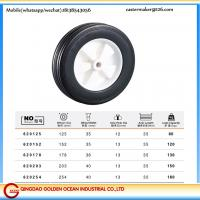 152mm-200mm rubber garden lawn mower rubber wheel