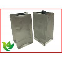 Best laminated aluminum foil eight side seal pouch with for coffee packing wholesale