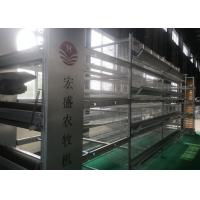 Quality High Tech Feeding Chicken Farm Poultry Equipment Q235 Low Carbon Steel Wire Material for sale