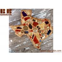 China Texas Wall Art collage mosaic crafted handmade wooden wall art for decor on sale