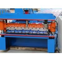 Quality Galvanised Steel Sheets Corrugation Roof Panel Roll Forming Machine 12 Months Warranty for sale