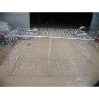 Buy Economical Gabion Stone Cages , Corrosion Resistant Rock Basket Retaining Wall at wholesale prices