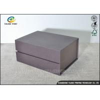 Quality Matt Handmade Cardboard Packing Boxes , Decorative Paper Boxes Book Shaped for sale