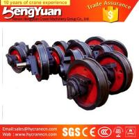 Quality OEM provided overhead travelling forged trolley crane wheel for sale