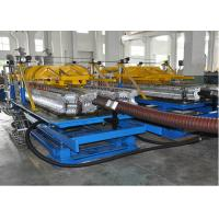 Quality PE / PP Single Layer Spiral Pipe Extrusion Line , SBG63-250 Spiral Pipe Making Machine for sale