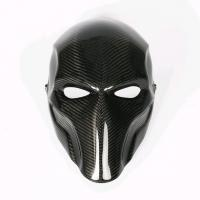 Quality Professional Custom Carbon Fiber Mask For Halloween Party SGS Approved for sale