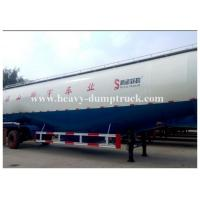 Quality Customized v type dry bulk cement trailer with 3 axles 45cbm capacity with warranty for sale