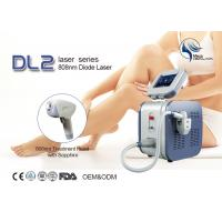 Best 808nm Diode Laser Hair Removal Machine , Permanent Hair Removing Machine wholesale