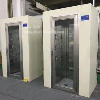 China Full Glass door Air Shower for Personal pass through on sale