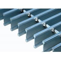 Quality Tru Weld Stainless Steel Floor Grating Durable Decorative Serrated Grating for sale