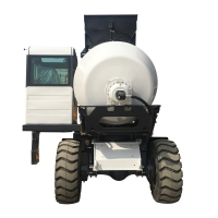 Quality self loading concrete mixer truck H3000A (3 m³, articulated chassis) for sale