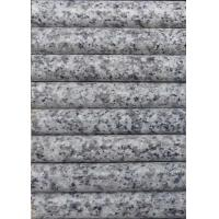 Quality Light Grey / White Granite Stair Treads , Exterior Stone Stair Treads 120 X 33 X 3cm​ for sale