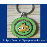 Quality Soft PVC Products Metal Ring Custom Key Chain Ring for Advertising / Promotional Gifts for sale