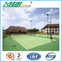Quality Polyurethaning Floors Rubberized Flooring Synthetic Sports Surfaces Tennis Court Painting for sale