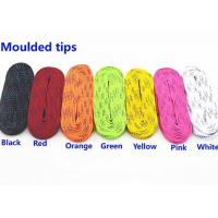 Quality Anti Abrasive Colored Skate Laces Wear Resistant , Roller Hockey Laces for sale