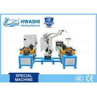 Quality Hwashi Stainless Steel Industrial Chair Automatic Robot Arm Welding Machine for sale