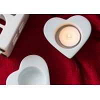 China Candle Holder Molds Heart Shaped Silicone Tray Mold Good Tear Strength Molds on sale