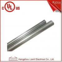 """Quality 1/2"""" EMT Conduit Hot Dip Galvanized 3.05 Meter Length UL Listed White Colore for sale"""