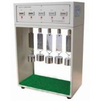 Quality Tape Hydraulic Adhesion Tester , 5 Stations Testing Instrument For Plastics for sale