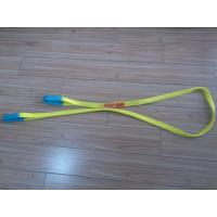 Buy 1 Inch Duplex Webbing Sling , Polyester Webbing Lifting Slings With Orange Label at wholesale prices