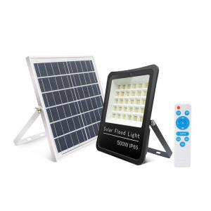 Quality Aluminum Frame 500W Solar LED Flood Lights IK07 for sale