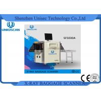Quality High Steel Penetration Security Baggage Scanner / Cargo x-Ray Scanning Machine for sale