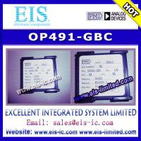 Quality OP491-GBC - PMI - Micropower Single-Supply Rail-to-Rail Input/Output Op Amps - Email: sale for sale