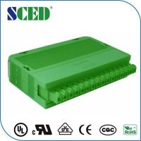 Quality Green 3.81mm Pluggable Din Rail Mounting Accessories 16pin Automotive for sale