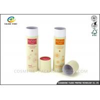 Quality Full Color Packaging Paper Tube Recyclable Paperboard For Clothes Packing for sale