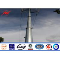 Best Steel Electric Poles / Eleactrical Power Pole With Cable wholesale