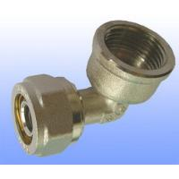 China compression brass fitting female elbow for PEX-AL-PEX on sale