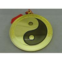 Best Customized Karate Medals , Judo Taekwondo Jiu - jitsu Medals , Zinc Alloy Martial Arts Medals. wholesale