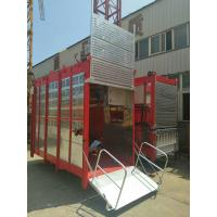 Quality Passenger Hoist Lift Double Cage for passenger and Building Material , Construction hoist for sale